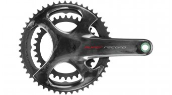 Campagnolo Super Record / Super Record EPS 12s Kurbelsatz 50/34 Zähne 165mm schwarz (ohne Lagerschalen) FC19-SR12640