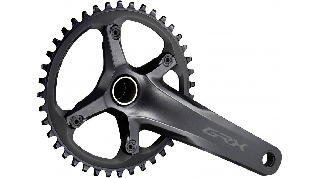 Shimano GRX FC-RX600 Gravel bike crank set 1x11 speed 170mm 40  teeth black