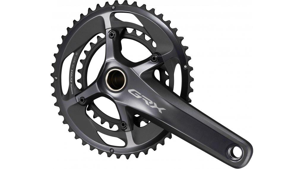 Shimano GRX FC-RX810 Gravel bike crank set 2x11 speed 175mm 48-31  teeth black