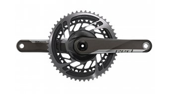 SRAM Red 1x AXS D1 QUARQ DUB guarnitura Powermeter Direct Mount (senza DUB movimento centrale, incl. corona catena ) 44 denti black