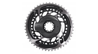 SRAM Red AXS D1 Powermeter-Kit 12-fach Direct Mount (ohne Kurbelarme, inkl. Kettenblätter) polar grey