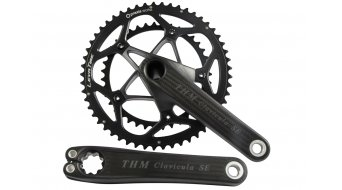 THM-carbons Clavicula SE compact carbon crank kit 5-hole (110mm) (without bottom bracket & mounting tool)