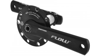 ROTOR Flow INpower Leistungsmess- guarnitura 30mm-Welle BCD) nero/argento