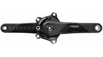 SRAM QUARQ Red DZERO crank set Powermeter BCD 110mm (without GXP bottom bracket & chain rings ) black