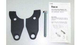 Tacx Adapter set CycleForce trainer T1480 for wheel diameter 610-640mm & 690-720mm T1488