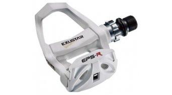 Exustar E-PR200 Road-pedales Cro-MO-eje blanco(-a)