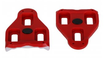 Look Delta pedal plates 9°  freedom of movement red