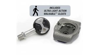 Speedplay Ultra Light Action Edelstahl Road-Pedalsystem rot
