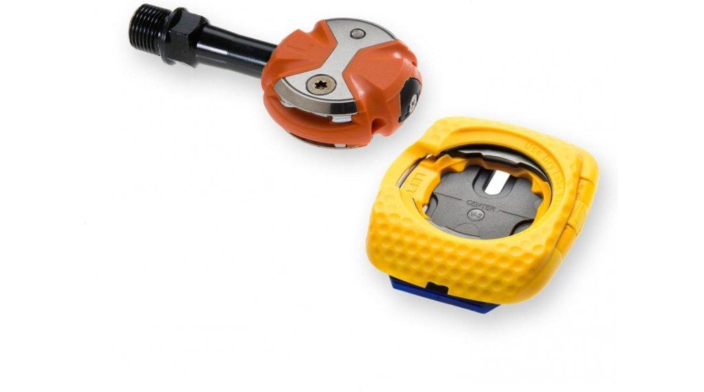 Speedplay Zero Cr-Mo Road-Pedalsystem orange