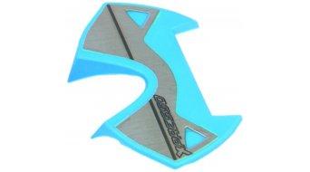 Time X-Presso Edelstahl Pedal-Plattform austauschbar blue