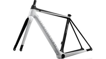 Lightweight Urgestalt Carbon Disc Rennrad Rahmenkit Gr. 48cm schwarz/weiß