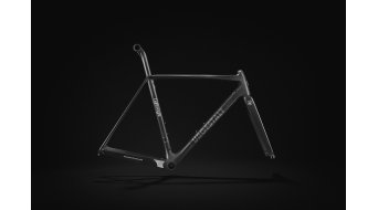Lightweight Urgestalt carbon road bike frame kit black