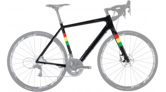Salsa Warbird carbone 700C vélo de course jeu de cadre Gravel vélo taille 55cm black Mod. 2016