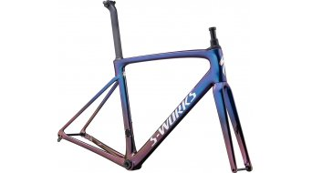 "Specialized S-Works Roubaix 28"" bici da corsa kit telaio mis. 54 sunset chameleon/chameleon fade mod. 2020"