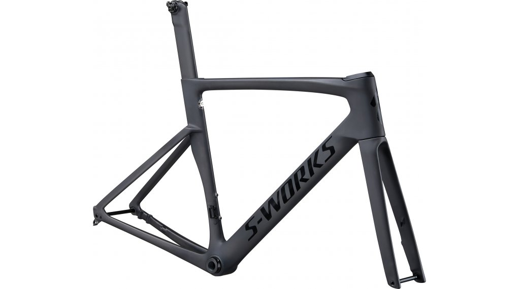 "Specialized S-Works Venge Disc 28"" Rennrad Rahmenkit Gr. 49cm satin carbon/tarmac black Mod. 2020"