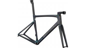 "Specialized S-Works Tarmac SL7 28"" bici da corsa kit telaio mis._54cm gloss_carbonio/chameleon_ argento _verde_color_run mod. 2021"