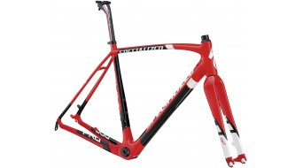 Specialized Crux Pro Carbon Disc OSBB Rahmenkit Gr. 56cm red/black/white Mod. 2013