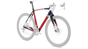 Specialized S-Works Crux Carbon Disc OSBB Rahmenkit carbon/white/red Mod. 2013
