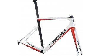 "Specialized S-Works Tarmac SL6 28"" bici da corsa kit telaio mis. 61cm light white/rocket red/black mod. 2018"
