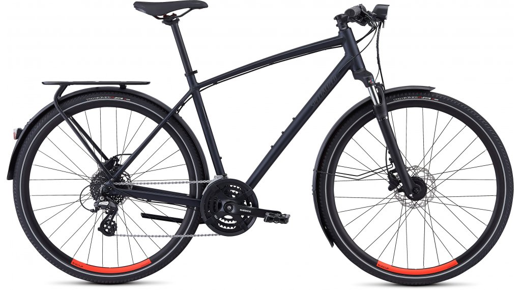 "Specialized Crosstrail EQ BT 28"" Fitnessbike bici completa mis. S cast black/rocket red mod. 2019"