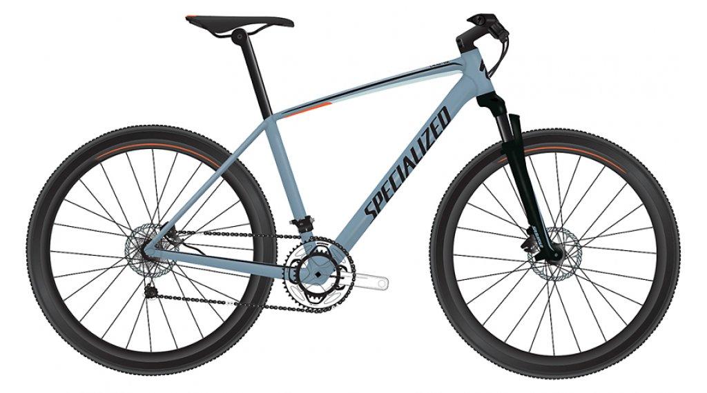 "Specialized Crosstrail Sport 28"" Fitnessbike bici completa mis. XL storm grey/rocket red/black mod. 2019"