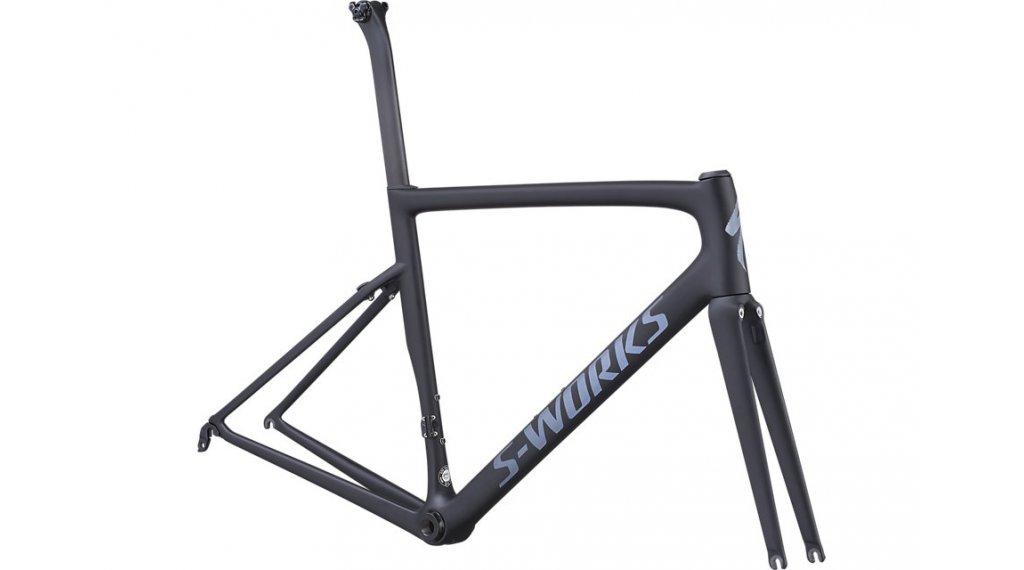 "Specialized S-Works Tarmac SL6 28"" road bike frame kit size 44 black/black 2019"