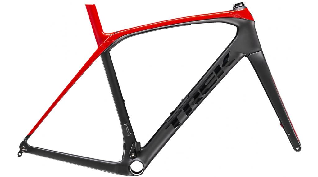 """Trek Domane SLR Disc 28"""" Rennrad Rahmenkit Gr. 54cm matte dnister black/viper red Mod. 2020"""