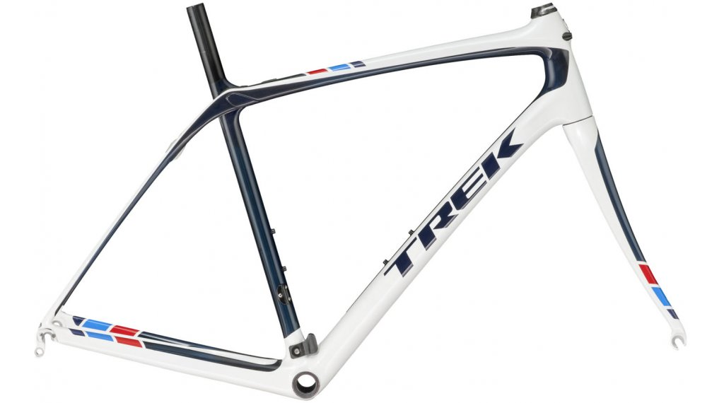 Trek Domane 5 bici carretera kit de cuadro azul smoke/crystal blanco ...