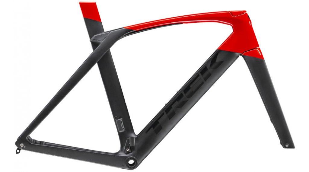 "Trek Madone SLR Disc 28"" Rennrad Rahmenkit Gr. 50cm matte black/gloss viper red Mod. 2019"
