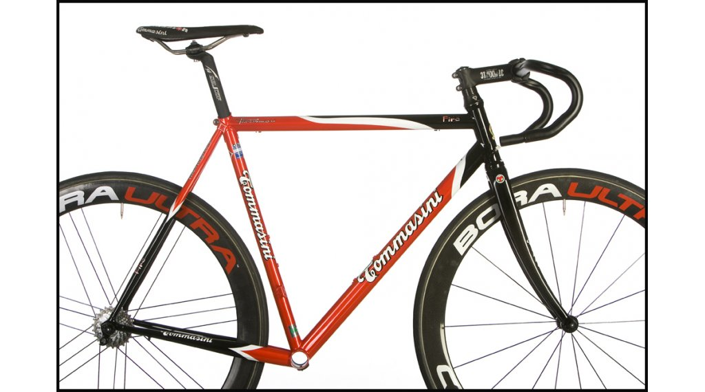 Tommasini Fire acero bici carretera kit de cuadro incl. Fkt56 ...
