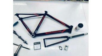Tommasini Premier Plus aluminium road bike frame kit Size 50 incl. FKT56 fork Sloping-Geometrie