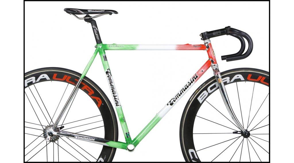Tommasini Tecno acero bici carretera kit de cuadro incl. Air Ahead ...