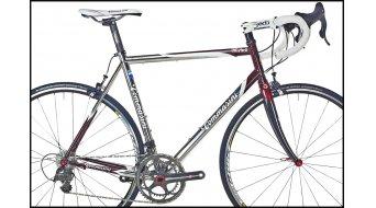 Tommasini X-Fire acero bici carretera kit de cuadro incl. FKT56 horquilla (Classic-Geometrie)