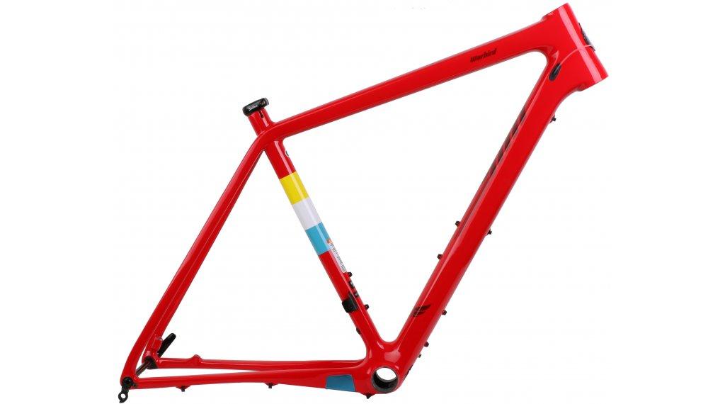 "Salsa Warbird carbone 28"" jeu de cadre Gravel vélo taille 58cm red Mod. 2018"
