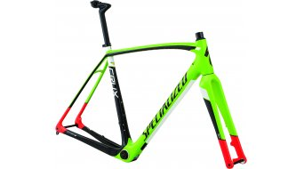 Specialized Crux Pro Cyclocrosser Rahmenkit gloss monster green/rocket red/tarmac black/white Mod. 2016