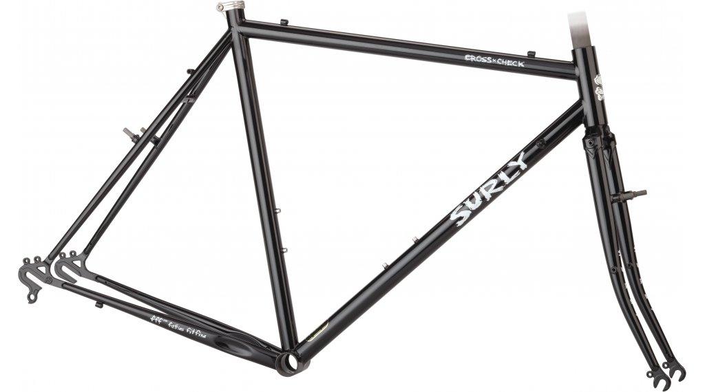 Surly Cross 检修 28 Cyclocross 车架组 型号 42.0厘米 gloss black 款型 2021