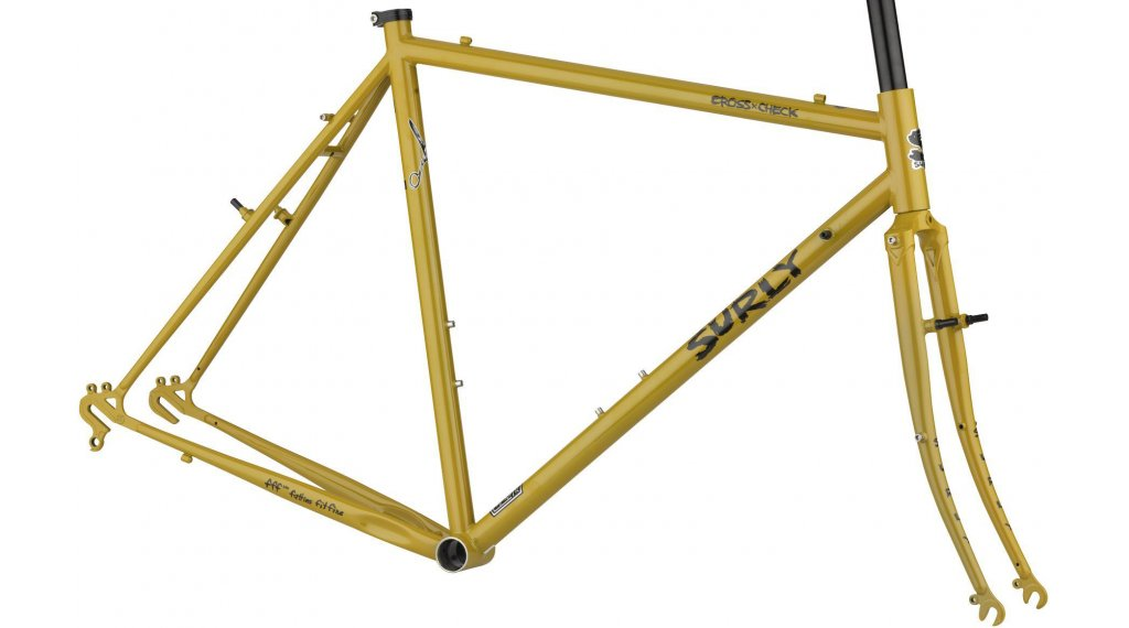 Surly Cross 检修 700C Cyclocross 车架组 型号 42厘米 stoned ground mustard 款型 2020
