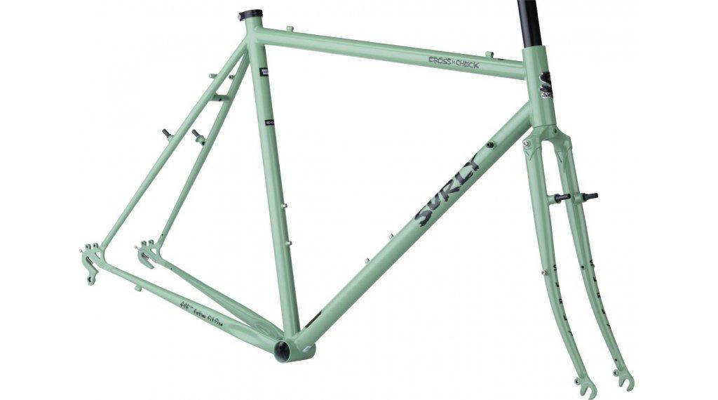 Surly Cross 检修 700C Cyclocross 车架组 型号 42厘米 green 款型 2020