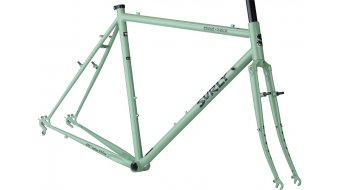 Surly Cross Check 700C Cyclocross Rahmenkit Gr. 58cm green Mod. 2020