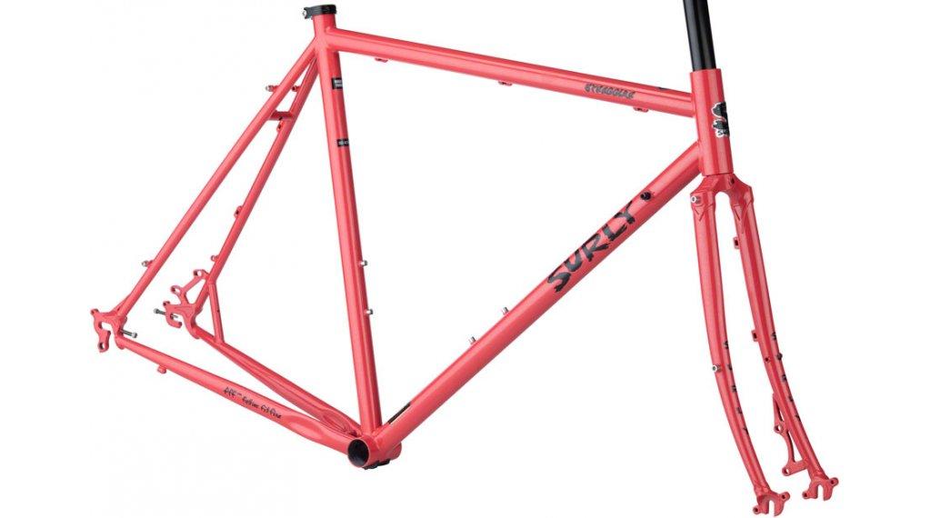 Surly Straggler 700C Cyclocross 车架组 型号 54厘米 salmon candy 款型 2020
