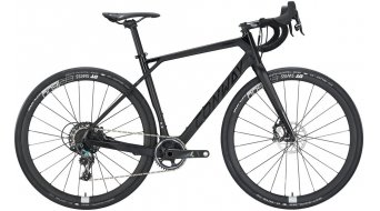 """Conway GRV 1200 Carbon 28"""" Gravelbike bici completa mis. S black opaco mod. 2019"""