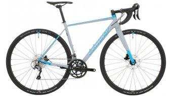 "Conway GRV 600 aluminium 28"" Gravel vélo vélo taille grey matt/blue Mod. 2019"
