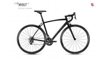 "Ghost Nivolet 2.8 AL U 28"" vélo de course vélo taille night black/gray Mod. 2018"