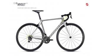 """Ghost Nivolet 4.8 LC U 28"""" országúti kerékpár komplett kerékpár Méret S shadow gray/smoke gray 2018 Modell"""