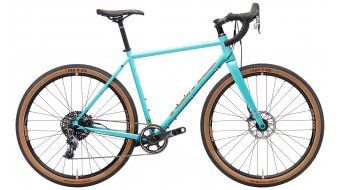 "Kona Rove LTD 27,5"" Komplettrad gloss aqua/copper & off-white decals Mod. 2018"