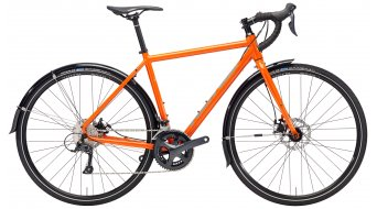 "Kona Rove DL 28"" Rennrad gloss orange/charcoal & grey decals Mod. 2018"