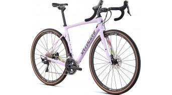"Specialized Diverge Comp carbono 28"" bici carretera bici completa tamaño 48cm gloss/satin uv lilac/negro/hyper-dusty lilac camo Mod. 2020"