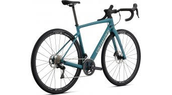 "Specialized Diverge Sport 28"" Rennrad Komplettrad Gr. 48cm satin dusty turquoise/taupe white mountains/pearl clean Mod. 2020"