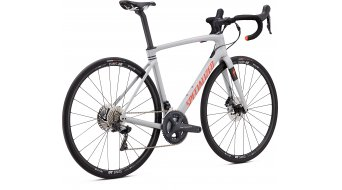 "Specialized Roubaix Comp 28"" Rennrad Komplettrad Gr. 49cm gloss dove gray/crimson-rocket red Mod. 2020"