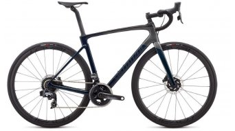 Specialized Roubaix Pro Force eTAP Rennrad Komplettrad gloss teal tint/charcoal/blue Mod. 2020